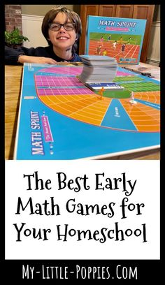 The Best Early Math Games for Your Homeschool | My Little Poppies Measurement Activities, Math Activities, Math Resources, Math Board Games, Fun Math Games, Educational Math Games, Homeschool Math, Homeschooling, Early Math