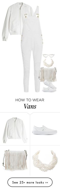 """""""Untitled #3754"""" by miki006 on Polyvore featuring T By Alexander Wang, Frame Denim, Rebecca Minkoff, Vans and Humble Chic"""