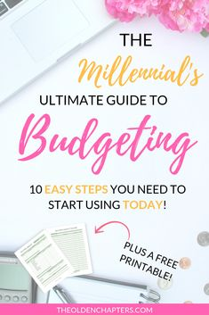 This budgeting for beginners guide is filled with tips and tricks to get started saving money and learn how frugal living and change your life. Begin budgeting your finances with great tips from Dave Ramsey to crush your monthly financial goals. Perfect for college students and 20-somethings looking get control of their money. Includes free budget printables and worksheets to add to your planner. Pin now and read how you can create your own budget! #Budgeting #money #Finances