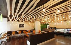 Pasta Franchise Restaurant in New York - Commercial Interior ...