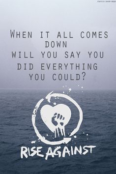 rise against the machine songs