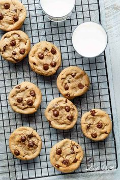 Easy Soft Chewy Chocolate Chip Cookies - Cafe Delites