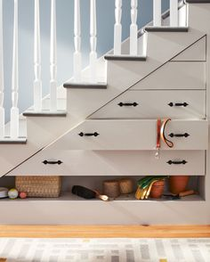 It's been there all along, yet few homes utilize it. The space under your steps…