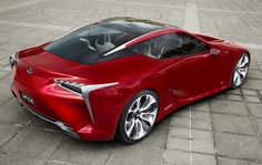 LEXUS LF-LC - One day ill have one.