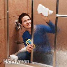 Pro secrets for keeping shower doors clean and streak-free:
