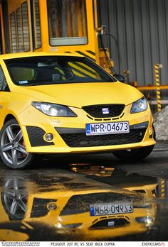 Slightly underestimated hot-hatch - Seat Ibiza Cupra. Here in our comparison with Peugeot 207 RC: http://exoticcars.pl/testy/peugeot-207-rc-vs-seat-ibiza-cupra/
