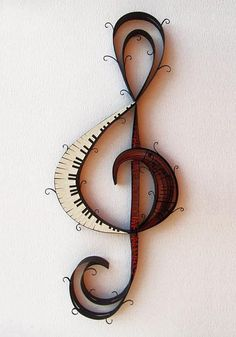 This treble clef shows my musical side. I play the piano, so the piano part of the treble clef is perfect! Sound Of Music, I Love Music, Music Is Life, House Music, Music Lyrics, Music Quotes, Music Music, Music Books, Film Quotes