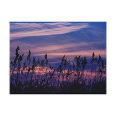 Sonnenuntergang - blauer Himmel