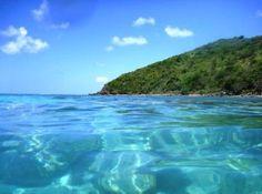 Cristal waters in Playa Flamenco, Culebra, Puerto Rico.