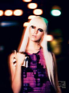 Blurred Nighttime Editorials : Luxure Magazine Winter 2013
