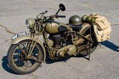 B.S.A M20, like the one my father had in ww2. as a despatch rider