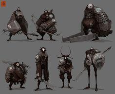 Darren Bentley - Character Design Page