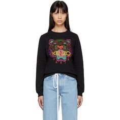 Kenzo - Black Limited Edition Holiday Tiger Sweatshirt