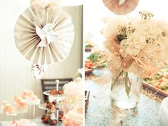 charming rustic shabby chic bridal shower