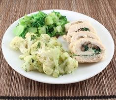 Whole30-Day 8 and Spinach and Mushroom Chicken Roulade - Living Low Carb One Day At A Time