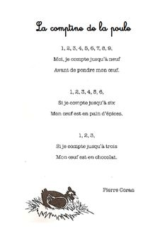 French Teaching Resources, Teaching French, Teacher Resources, Preschool Music, Teaching Music, Spring Activities, Activities For Kids, French For Beginners, Poetry Unit