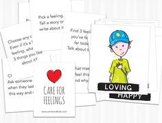 Zentered Kids' FREE Feeling Prompt Cards provide another activity for playfully exploring emotions with kids, while also building their Emotional Intelligence. Emotional Intelligence, Prompts, Deck, Challenges, Explore, Activities, Writing, Feelings, Watch