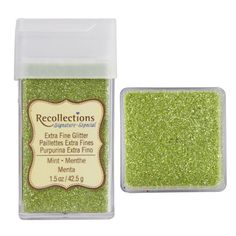 Recollections Signature Extra Fine Glitter, 1.5 oz. Mint