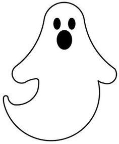 Me pedem muito moldes de fantasminhas.... Os meninos gostam desse tema para festas. Hoje deixo um molde que pode ser usado como risco para c...