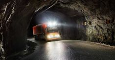 Volvo Trucks has just signed a landmark agreement with Brønnøy Kalk AS in Norway to provide its first commercial autonomous solution transporting limestone from an open pit mine to a nearby port. Work Site, Volvo Trucks, Coast Australia, Self Driving, Sunshine Coast, Weather Conditions, Science And Technology, Norway, Transportation