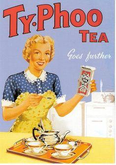 Weiter geht's mit Tee ...