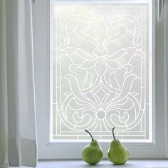 Patterned Window Film offers a stylish and contemporary fix to window privacy. View our range of decorative window films styles, such as period, Victorian and contemporary. Art Deco Design, Glass Design, Art Nouveau, Frosted Glass Window, Bathroom Window Treatments, Window Films, Window Art, Interior Decorating, Windows