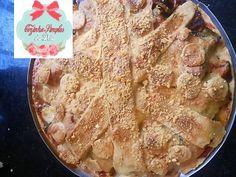 Cozinha Simples da Deia: Torta Ratatouille com Gorgonzola