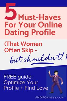 advice for someone new to online dating
