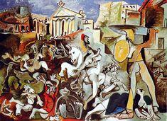 Picasso - L'enlèvement des Sabines, 1962