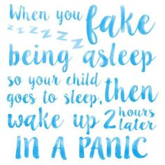 Keep those fake naps under control today, mamas! #zzz #momquotes (Image via @replayrecycled)