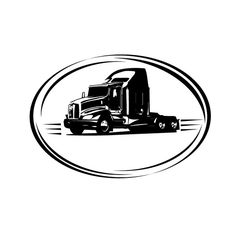 Big Rig Cross Truck Driver Sticker Decal 4 Drivers of