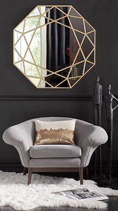 A very grown up accent piece, the Frankie Chair is a modified barrel style chair destined for hours of chic lounging.