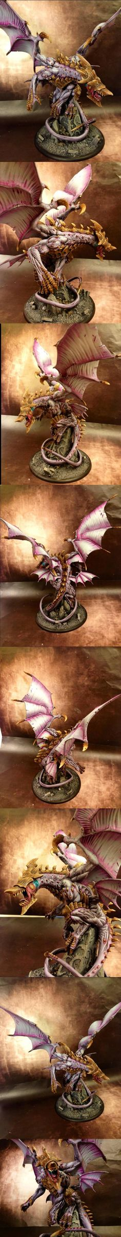Everblight Pastel  Aosol's painted stuff