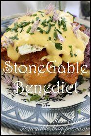 StoneGable: STONEGABLE BENEDICT