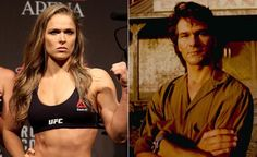 Ronda Rousey To Play Patrick Swayze Role In U0027Road Houseu0027 Remake   UFC  Fighter Would Play Tough Bouncer In Reboot Of 1989 Original Film.     See  Moru2026