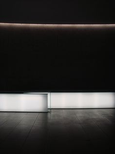 View of the lobby inside the Teatro Armani in Milan by Tadao Ando (photo Rob Fissmer) _