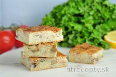 Fit zemiakový koláč | fitrecepty.sk