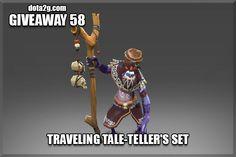 Giveaway 58 - Traveling Tale-Teller's Set