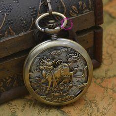 $66.00 (Buy here: https://alitems.com/g/1e8d114494ebda23ff8b16525dc3e8/?i=5&ulp=https%3A%2F%2Fwww.aliexpress.com%2Fitem%2FMechanical-Pocket-Watch-men-Kylin-steampunk-man-fob-watches-bronze-plating-gift-roman-antique-vintage-retro%2F32407395848.html ) Mechanical Pocket Watch men Kylin steampunk man fob watches bronze plating gift roman antique vintage retro Stylish hand Wind for just $66.00