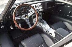 Eagle E-type Low Drag Coupe cockpit