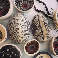 Penny Evans Ceramics. Penny Evans is an artist and studio potter based out of Lismore, NSW in Australia. She works in mixed media art and contemporary ceramics and the pieces that come from her kiln reference her Kamilaroi/Gomeroi heritage.