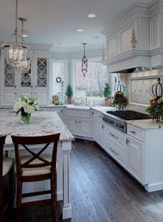 Fused with country details, country French style creates a space that is elegant yet homey, and rustic yet refined. Explore these design ideas to combine French and country styles in your kitchen…MoreMore #frenchcountrykitchendesignrustic