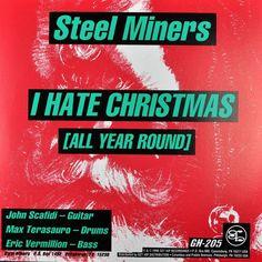 Steel Miners Motherf*cker 666 #Punk Hate High Christmas Split Green Vinyl 7in 96 #Christmas