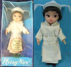 HASBRO: 1966 The Flying Nun Dolly Darlings Doll