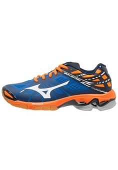 Mizuno WAVE LIGHTNING Z - Volleybalschoenen - directoire blue/white/vibrant orange - Zalando.be - 2800 punten