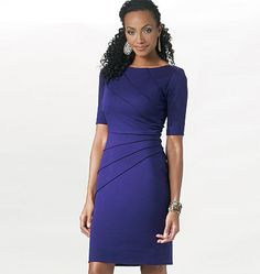 Butterick Sewing Pattern 5559 - Ladies Dress   Minerva Crafts