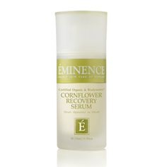 Eminence Organics Cornflower Recovery Serum helps recover and detoxify with the power of cornflower, chamomile and hibiscus to calm and soothe irritated skin. Kiss My Face, Eminence Organics, Organic Skin Care, Good Skin, Natural Skin, Beauty Skin, Body Care, Sensitive Skin, Serum