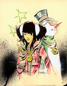 Winter Funk - art by Jim Mahfood