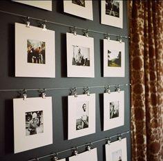 Met deze 25 ideetjes om foto's op te hangen, zal je ze nooit meer normaal ophangen!