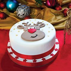 Cakes : Rudolf The Reindeer